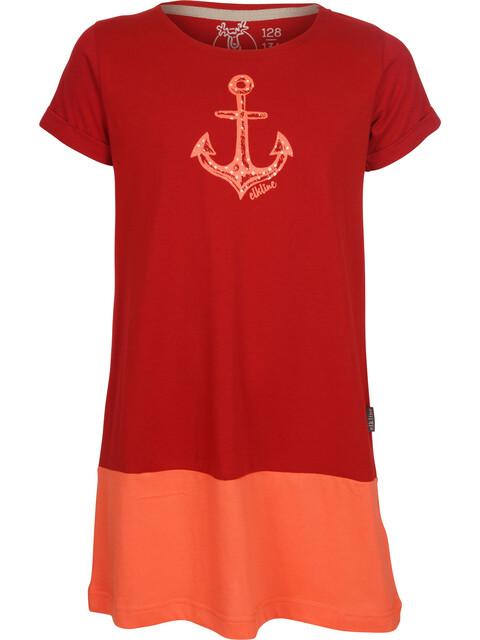 Elkline Farbenfroh Dress Girls truered-coral